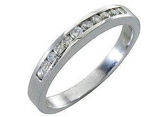 1/2 CARAT WOMENS BRILLIANT ROUND CUT DIAMOND RING WEDDING BAND WHITE GOLD