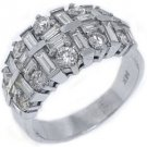 2.65 CARAT WOMENS BRILLIANT ROUND CUT DIAMOND RING WEDDING BAND WHITE GOLD
