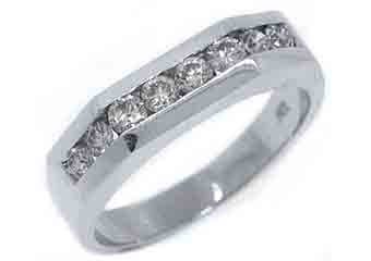 .65 CARAT WOMENS BRILLIANT ROUND CUT DIAMOND RING WEDDING BAND WHITE GOLD