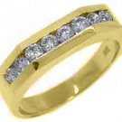 .65 CARAT WOMENS BRILLIANT ROUND CUT DIAMOND RING WEDDING BAND YELLOW GOLD