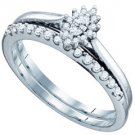 WOMENS MARQUISE CUT DIAMOND ENGAGEMENT PROMISE HALO RING WEDDING BAND BRIDAL SET