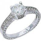 1.26CT WOMENS DIAMOND ENGAGEMENT WEDDING RING BRILLIANT ROUND CUT WHITE GOLD