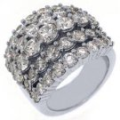 6 CARAT WOMENS BRILLIANT ROUND CUT DIAMOND RING WEDDING BAND WHITE GOLD