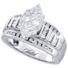 .82 CARAT WOMENS DIAMOND ENGAGEMENT RING MARQUISE SHAPE WHITE GOLD