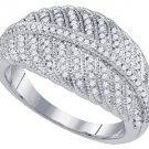 .40 CARAT WOMENS BRILLIANT ROUND CUT DIAMOND RING WEDDING BAND WHITE GOLD