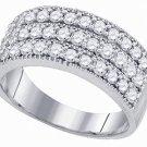 .94 CARAT WOMENS BRILLIANT ROUND CUT DIAMOND RING WEDDING BAND WHITE GOLD