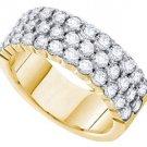 1 CARAT WOMENS BRILLIANT ROUND CUT DIAMOND RING WEDDING BAND YELLOW GOLD