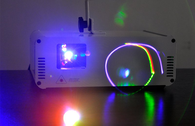 350mW RGB Laser Projector with RGB Color Animation
