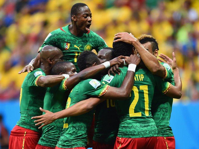 010 -  8 X 6 Photo - Football - FIFA World Cup 2014 - Joel Matip Goal Against Brazi