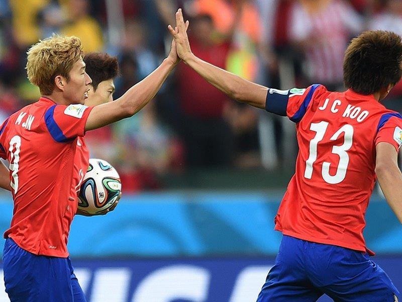 100 - 8 X 6 Photo - Football - FIFA World Cup 2014 - Algeria V South Korea - Son Heung Min