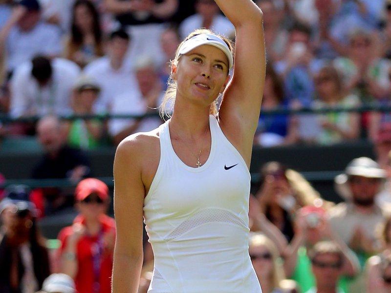023 - 8 X 6 Photo - Tennis - Wimbledon Championship 2014 - Day 2 - Maria Sharapova