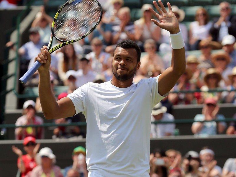 025 - 8 X 6 Photo - Tennis - Wimbledon Championship 2014 - Day 2 - Jo Wilfried Tsonga