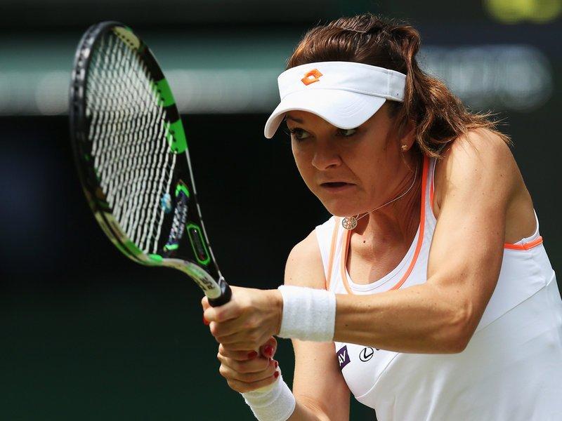 026 - 8 x 6 Photo - Tennis - Wimbledon Championship 2014 - Day 3 - Agnieszka Radwanska