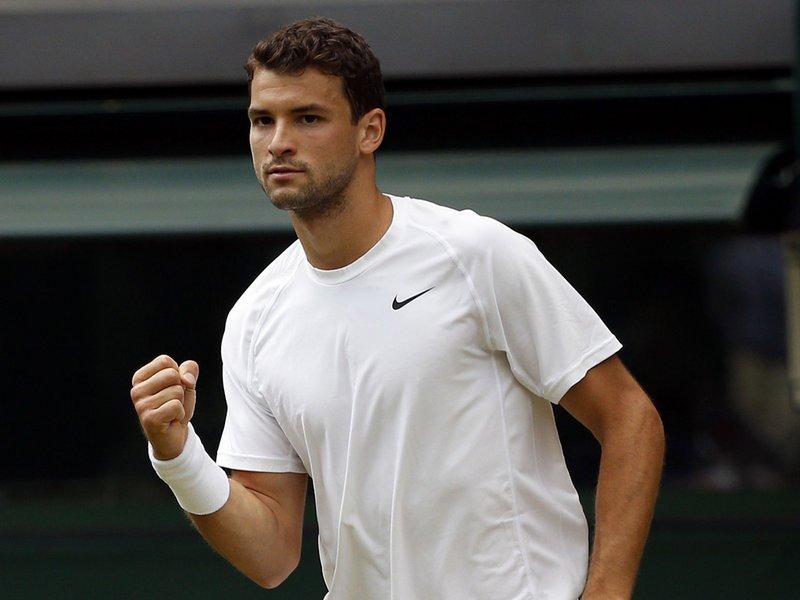 031 - 8 x 6 Photo - Tennis - Wimbledon Championship 2014 - Day 3 - Grigor Dimitrov