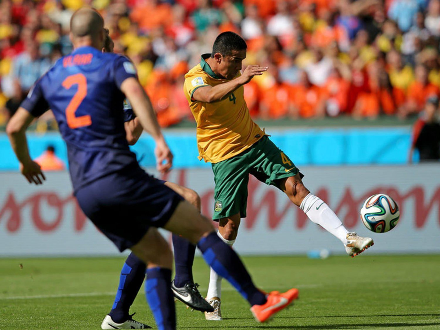 WC 0190 - 8 X 6 Photo - Football - FIFA World Cup 2014 - Holland V Australia - Cahill Wonder Goal