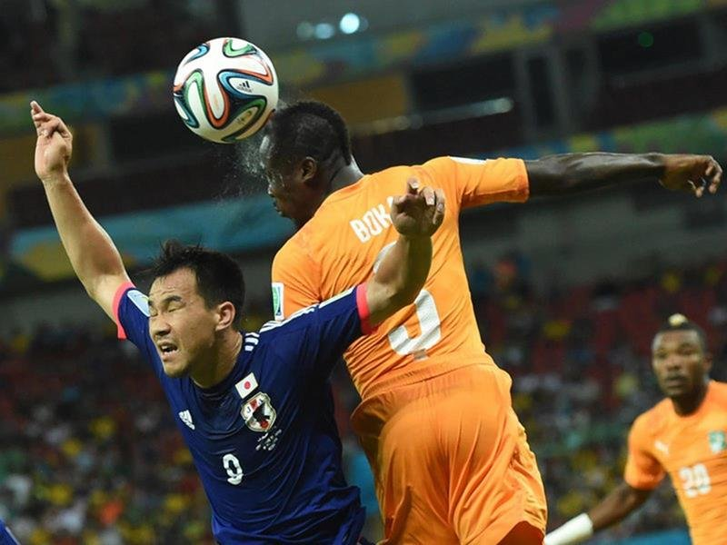 WC 0216 - 8 X 6 Photo - Football - FIFA World Cup 2014 - Japan V Ivory Coast - Arthur Bok