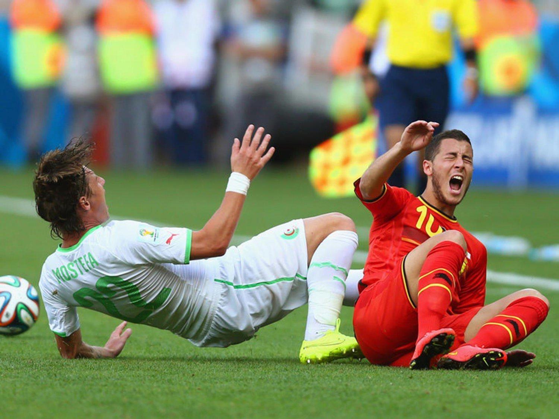 WC 0223 - 8 X 6 Photo - Football - FIFA World Cup 2014 - Belgium V Algeria