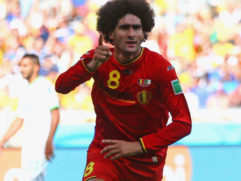 WC 0226 - 8 X 6 Photo - Football - FIFA World Cup 2014 - Belgium V Algeria - Fellaini