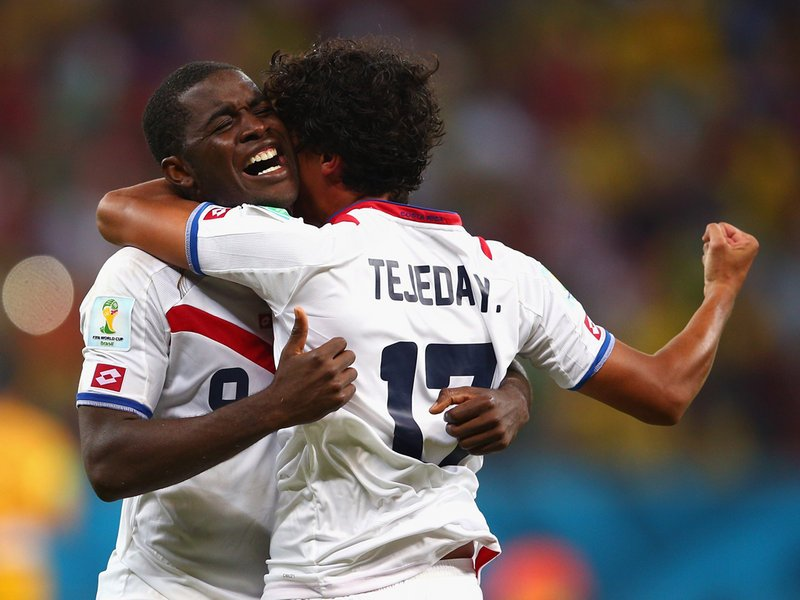446 - 8 X 6 Photo - Football - FIFA World Cup - Costa Rica V Greece - Joel Campbell