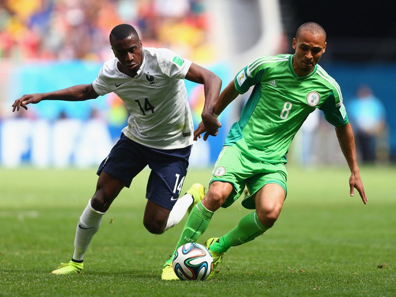 476 - 8 x 6 Photo - Football - FIFA World Cup - France v Nigeria - Blaise Matuidi