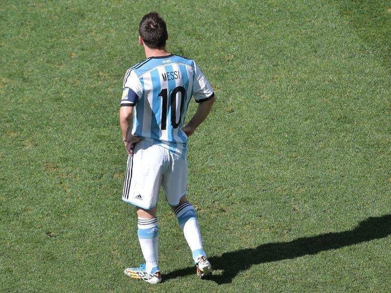 512 -  8 x 6 - Photo - Football - FIFA World Cup - Argentina v Switzerland Lionel Messi