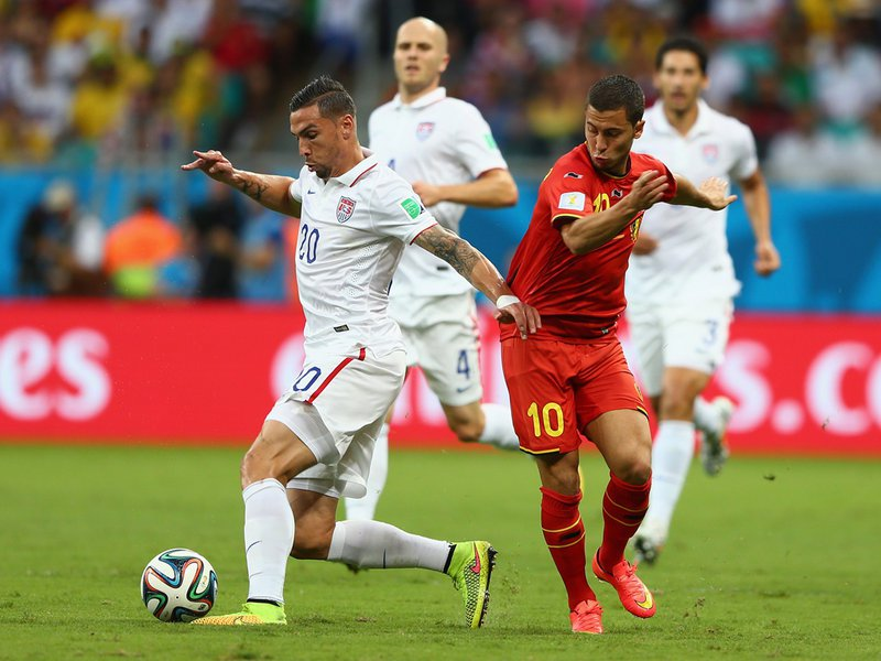 525 -  8 X 6 - Photo - Football - FIFA World Cup 2014 - Belgium V United States - Geoff Camer