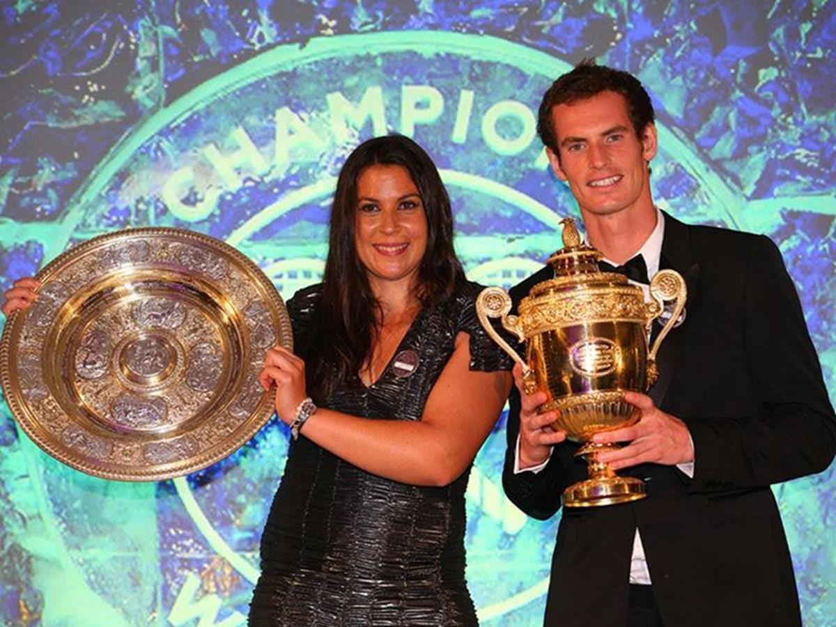 8 x 6 Photo - Tennis - Wimbledon Championships 2013 - Champions Ball - Andy Murray & Marion Bartoli