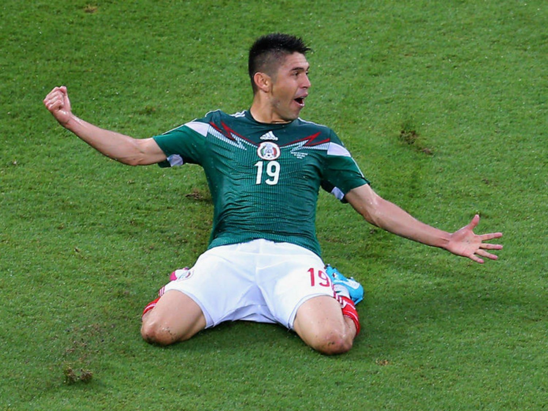 263 - 8 X 6 Photo - Football - FIFA World Cup 2014 - Mexico V Cameroon