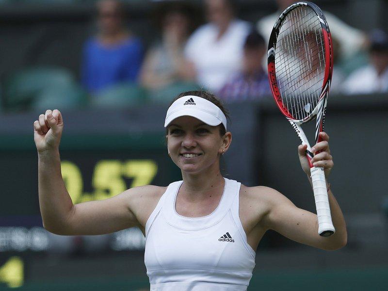 103 - 8 X 6 Photo - Tennis - Wimbledon Championship 2014 - Day 9 - Simona Halep