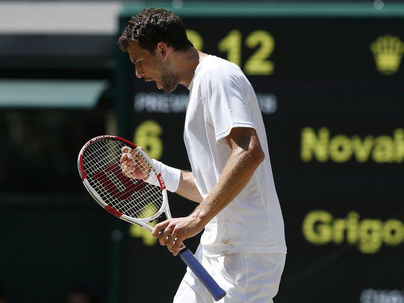 125 - 8 X 6 Photo - Tennis - Wimbledon Championship 2014 - Mens Semi Finals - Grigor Dimitrov