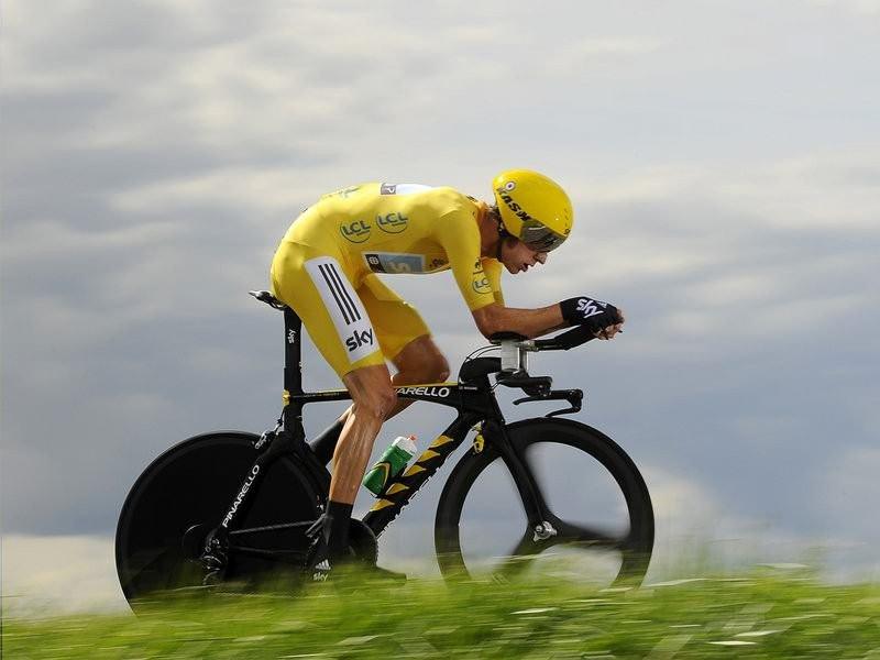 009 - 8 x 6 Photo - Tour de France 2012 - Bradley Wiggins