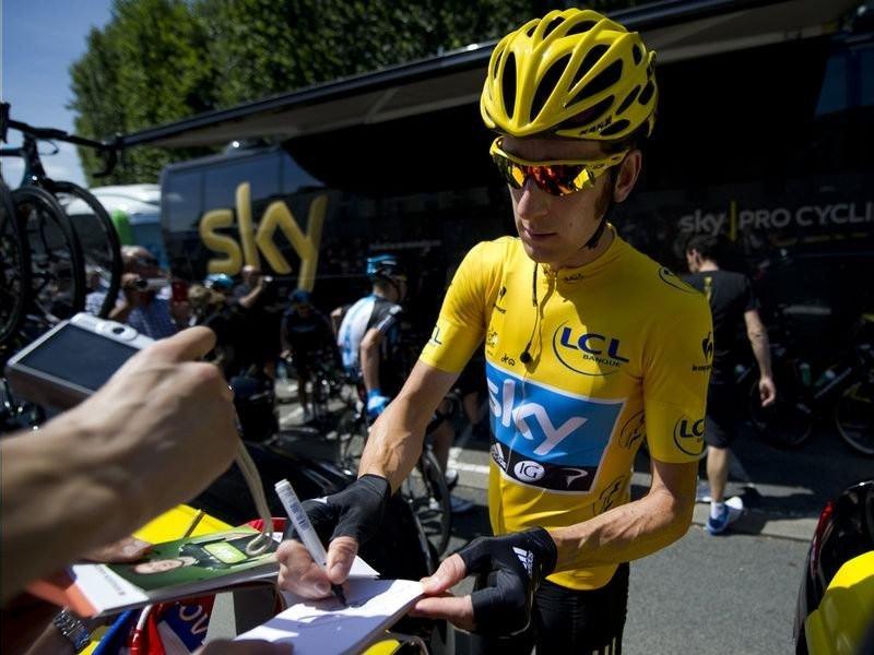 015 - 8 x 6 Photo - Tour de France 2012 - Bradley Wiggins