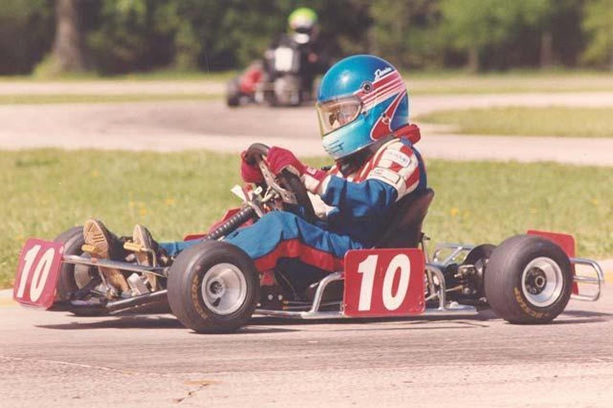 036 - 12 x 8 Photo - Motor Racing - Danica Patrick