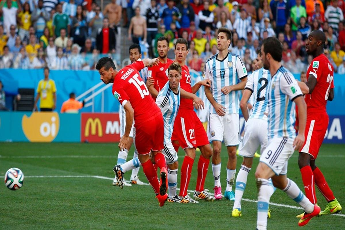 004 - 12 x 8 - 2014 World Cup Finalists - Argentina