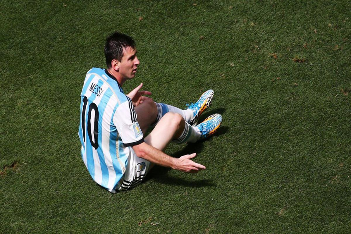 042 - 12 x 8 - 2014 World Cup Finalists - Argentina