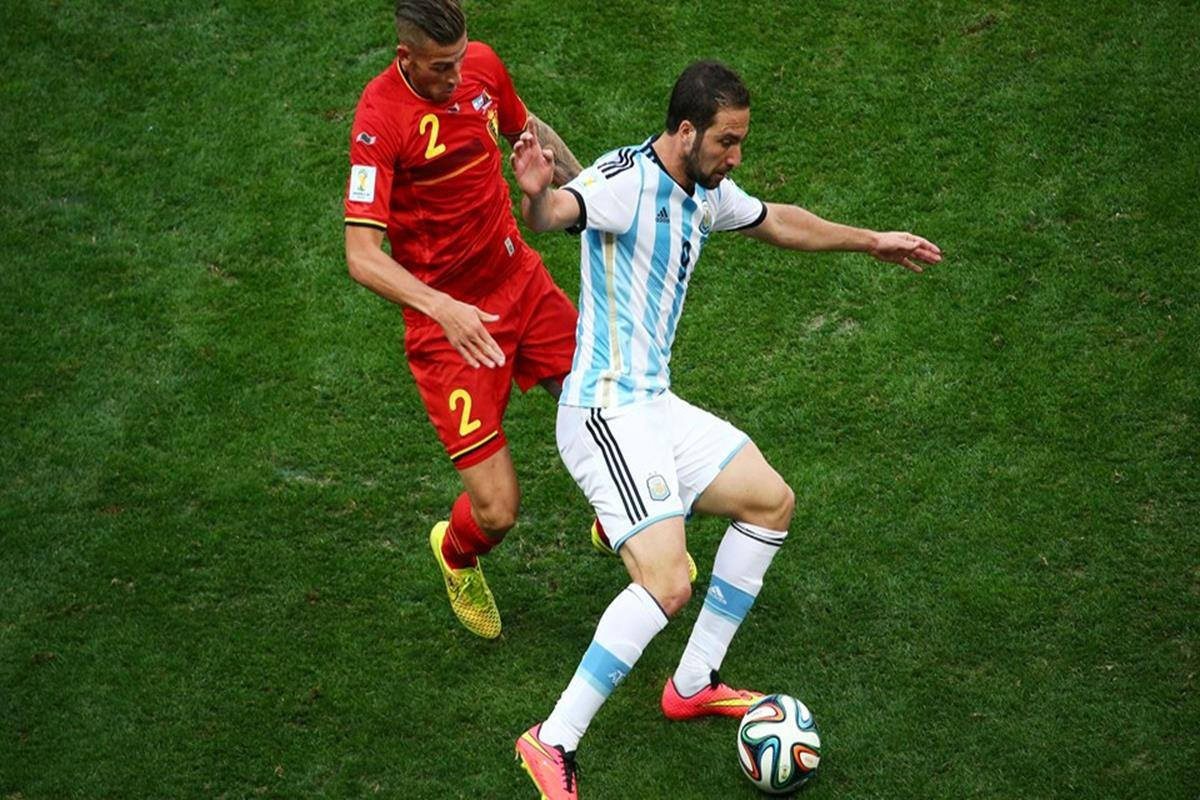 061 - 12 x 8 - 2014 World Cup Finalists - Argentina