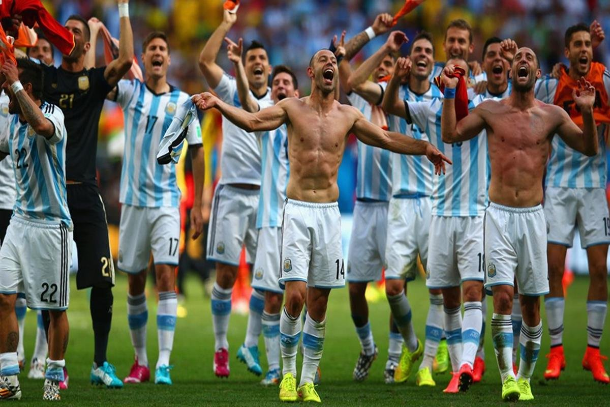 081 - 12 x 8 - 2014 World Cup Finalists - Argentina