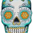 SUGAR SKULL #2 CROSS STITCH PATTERN