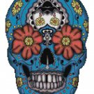 SUGAR SKULL #5 CROSS STITCH PATTERN