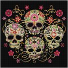 SUGAR SKULL #7 CROSS STITCH PATTERN