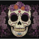 SUGAR SKULL #10 CROSS STITCH PATTERN