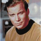 STAR TREK CAPTAIN KIRK #1  CROSS STITCH PATTERN