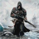 ASSASSIN'S CREED ROGUE #1 CROSS STITCH PATTERN
