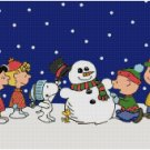 PEANUTS CHARLIE BROWN CHRISTMAS CROSS STITCH PATTERN PDF ONLY