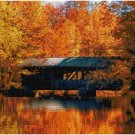 COVERED BRIDGE #5 CROSS STITCH PATTERN PDF ONLY