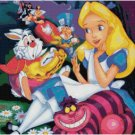 DISNEY ALICE IN WONDERLAND COLLAGE #2 CROSS STITCH PATTERN PDF ONLY