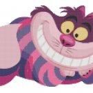 DISNEY ALICE IN WONDERLAND CHESHIRE CAT #3  CROSS STITCH PATTERN PDF ONLY