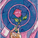 DISNEY BEAUTY AND THE BEAST ROSE #1 CROSS STITCH PATTERN PDF ONLY