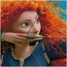 DISNEY BRAVE #4 CROSS STITCH PATTERN PDF ONLY