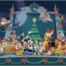 DISNEY CHARACTERS CHRISTMAS CROSS STITCH PATTERN PDF ONLY